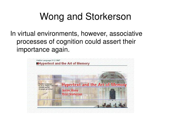 Wong and Storkerson