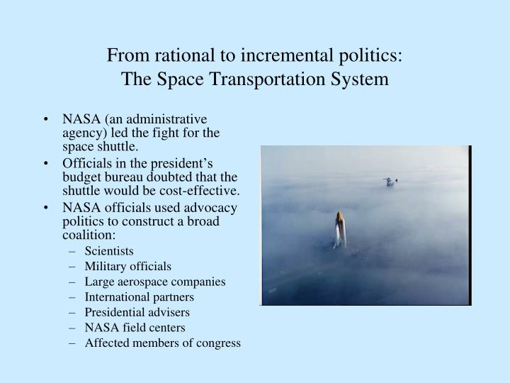 From rational to incremental politics: