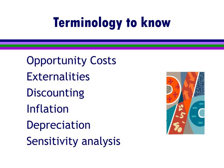 Terminology to know