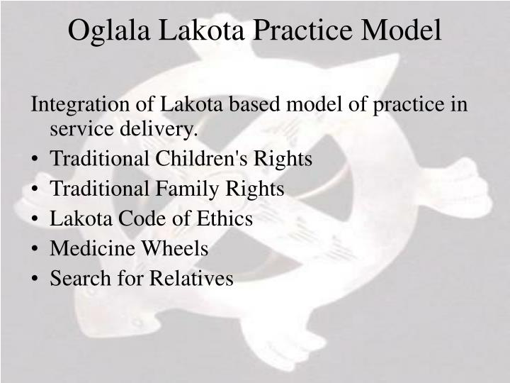 Oglala Lakota Practice Model
