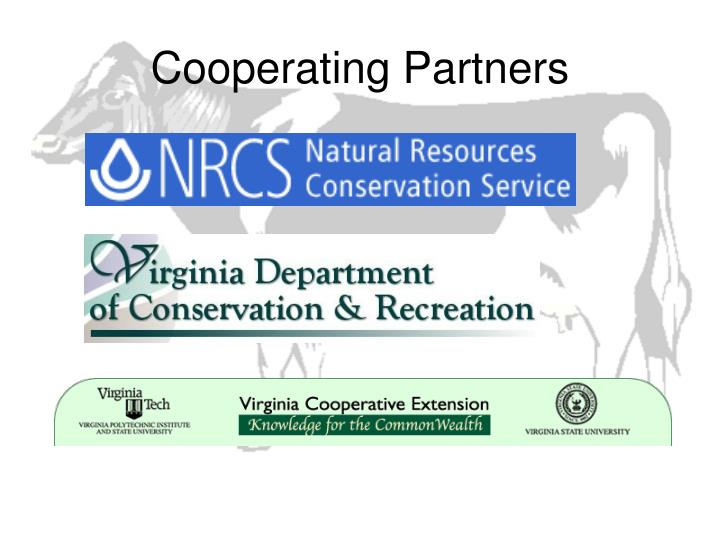 Cooperating partners