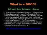 what is a docc