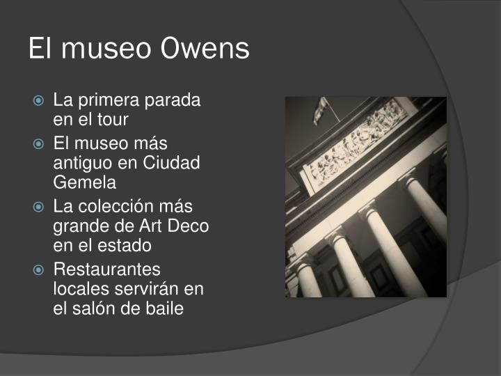 El museo owens