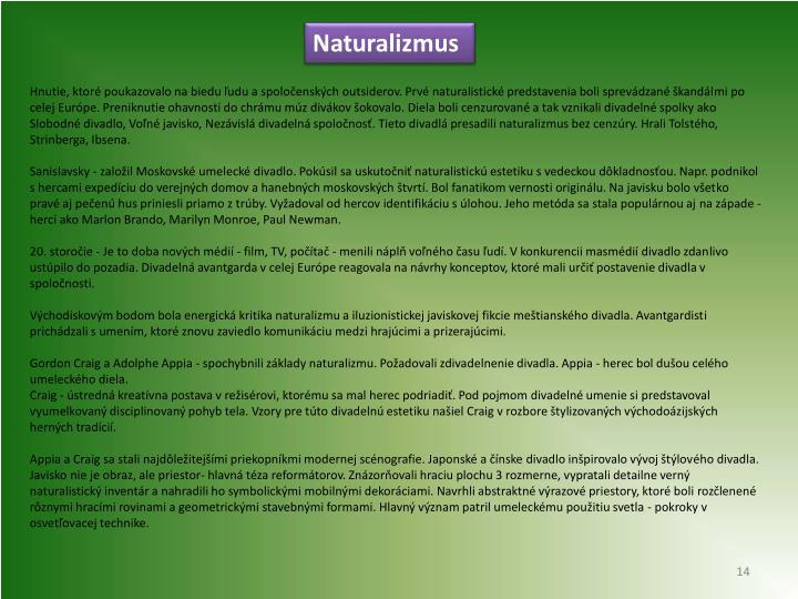 Naturalizmus