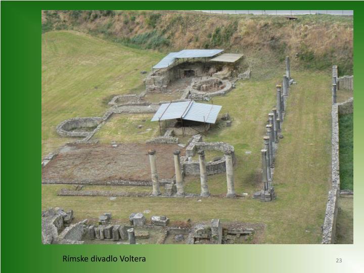 Rímske divadlo Voltera