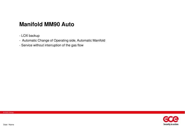 Manifold MM90 Auto