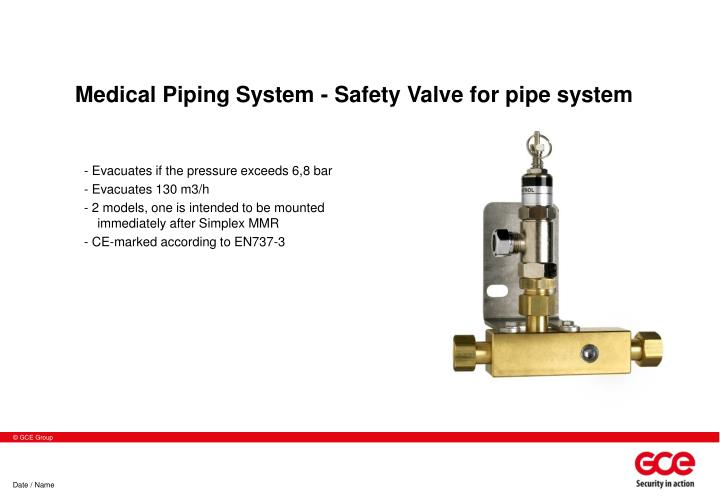 Medical Piping System