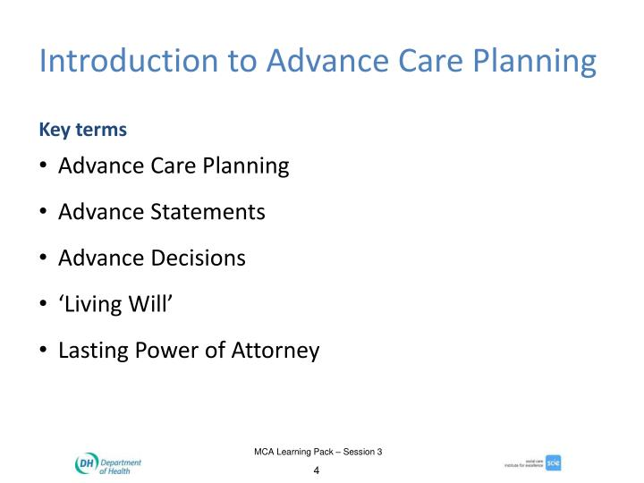 Introduction to Advance Care Planning