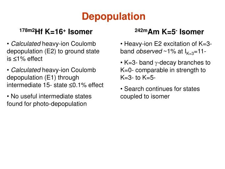 Depopulation