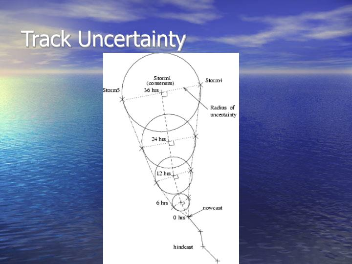 Track Uncertainty