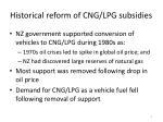 historical reform of cng lpg subsidies