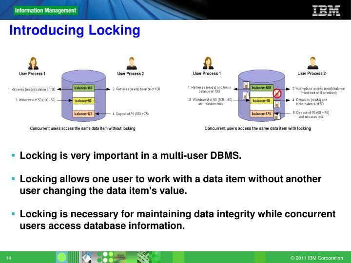 Introducing Locking