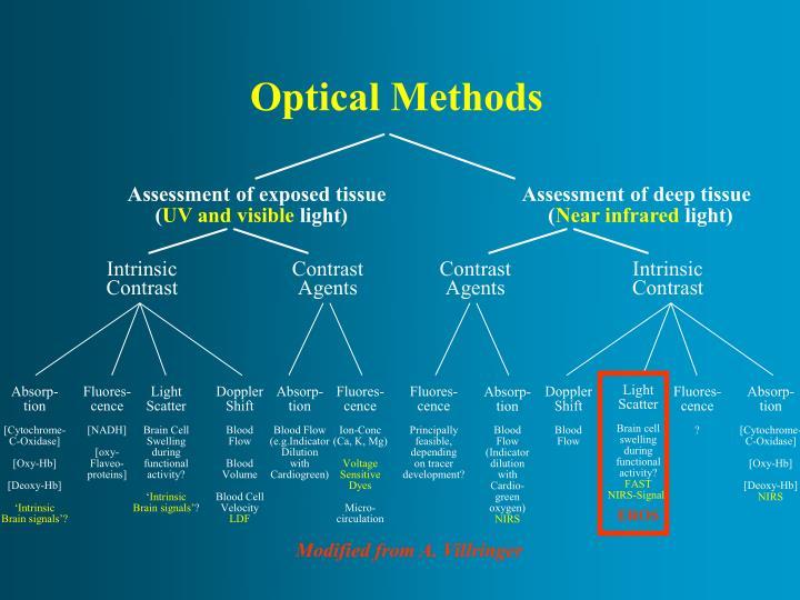 Assessment of exposed tissue                          Assessment of deep tissue
