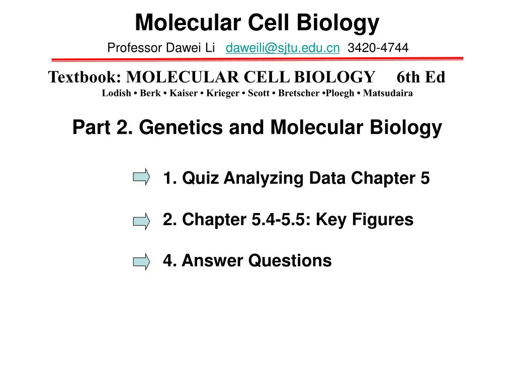 cell biology short answer questions