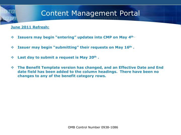Content management portal1