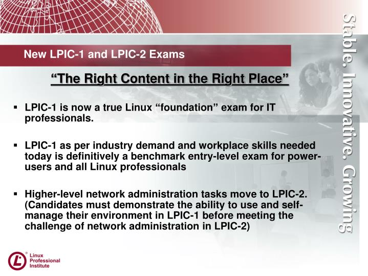 New lpic 1 and lpic 2 exams1