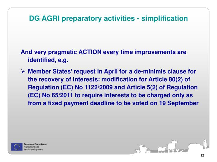 And very pragmatic ACTION every time improvements are identified, e.g.