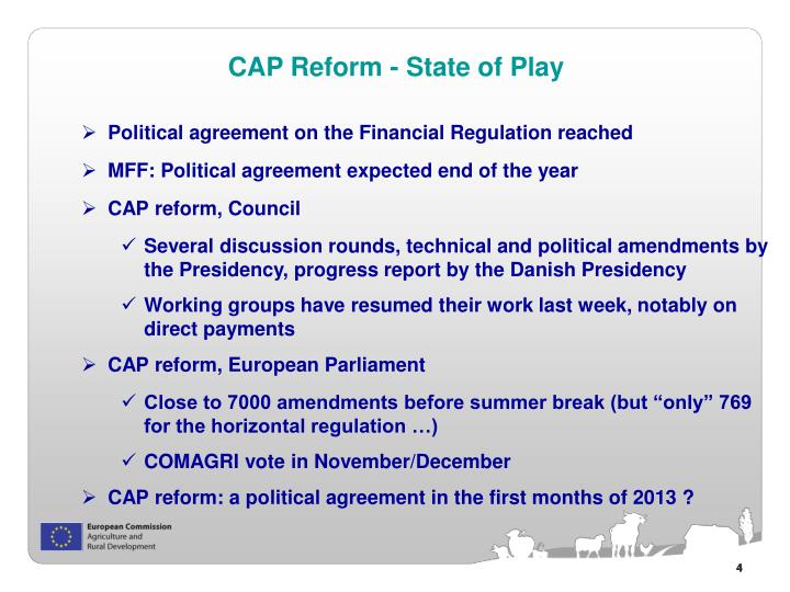 Political agreement on the Financial Regulation reached