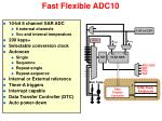 fast flexible adc10