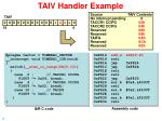 taiv handler example