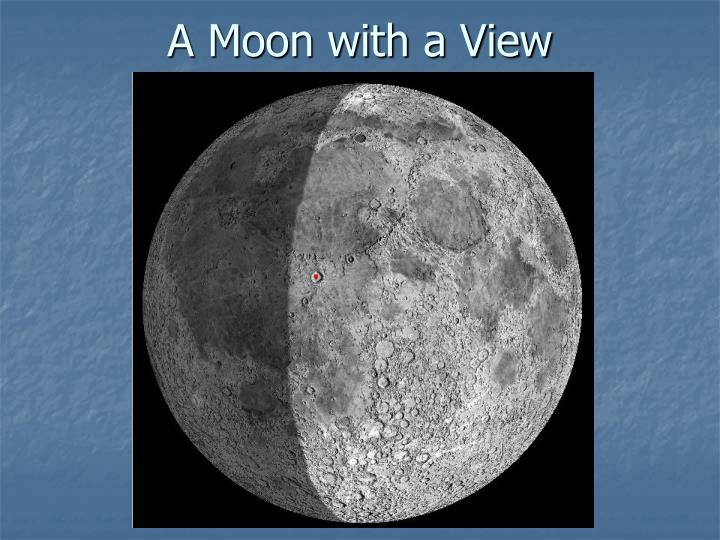 A Moon with a View