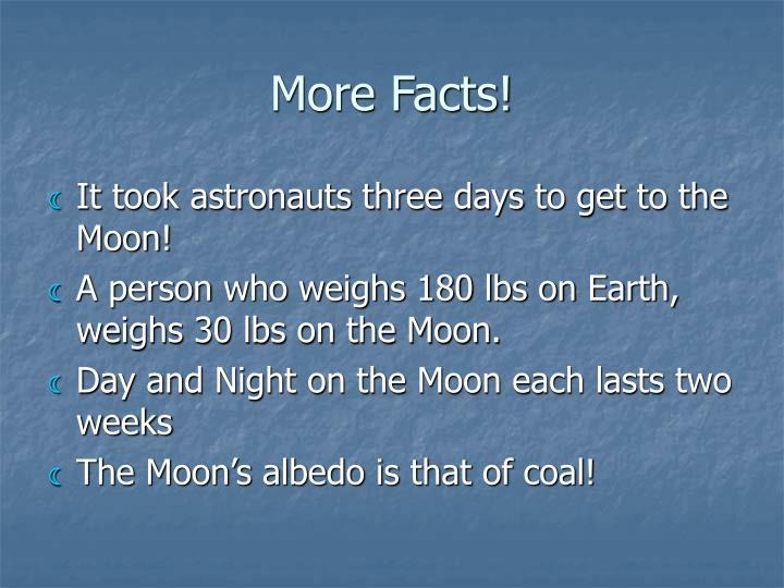 More Facts!