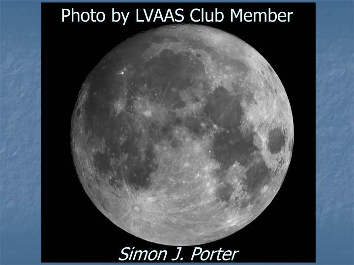 Photo by LVAAS Club Member