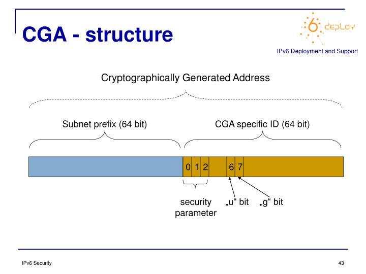 CGA - structure