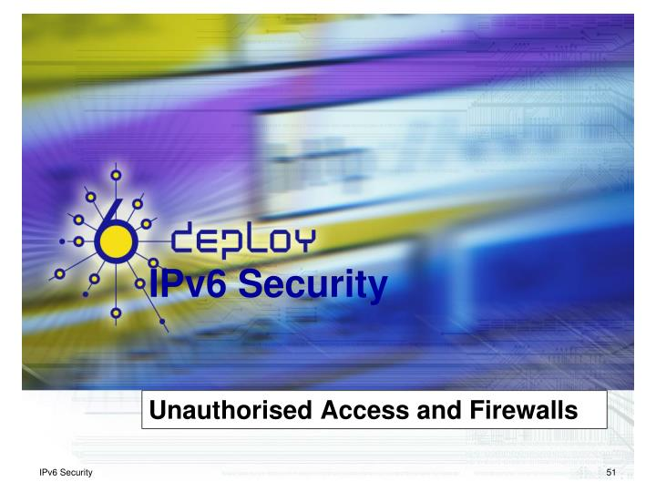 Unauthorised Access and Firewalls