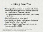 linking directive