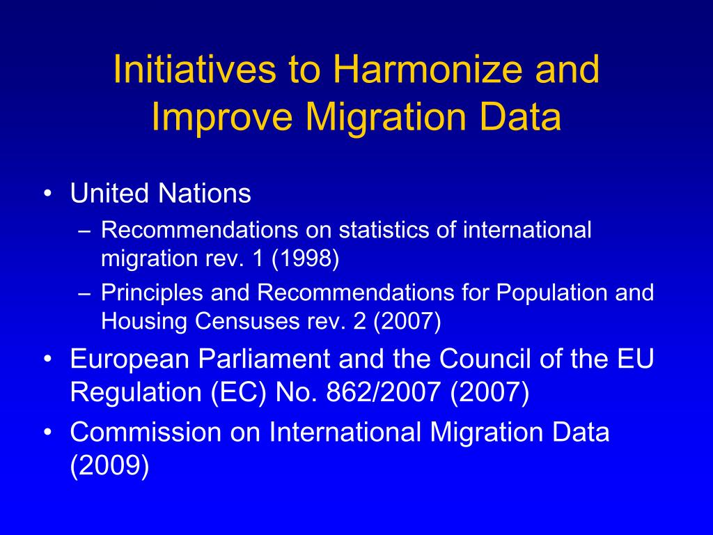 PPT - What is Migration Health? PowerPoint Presentation - ID:4215915