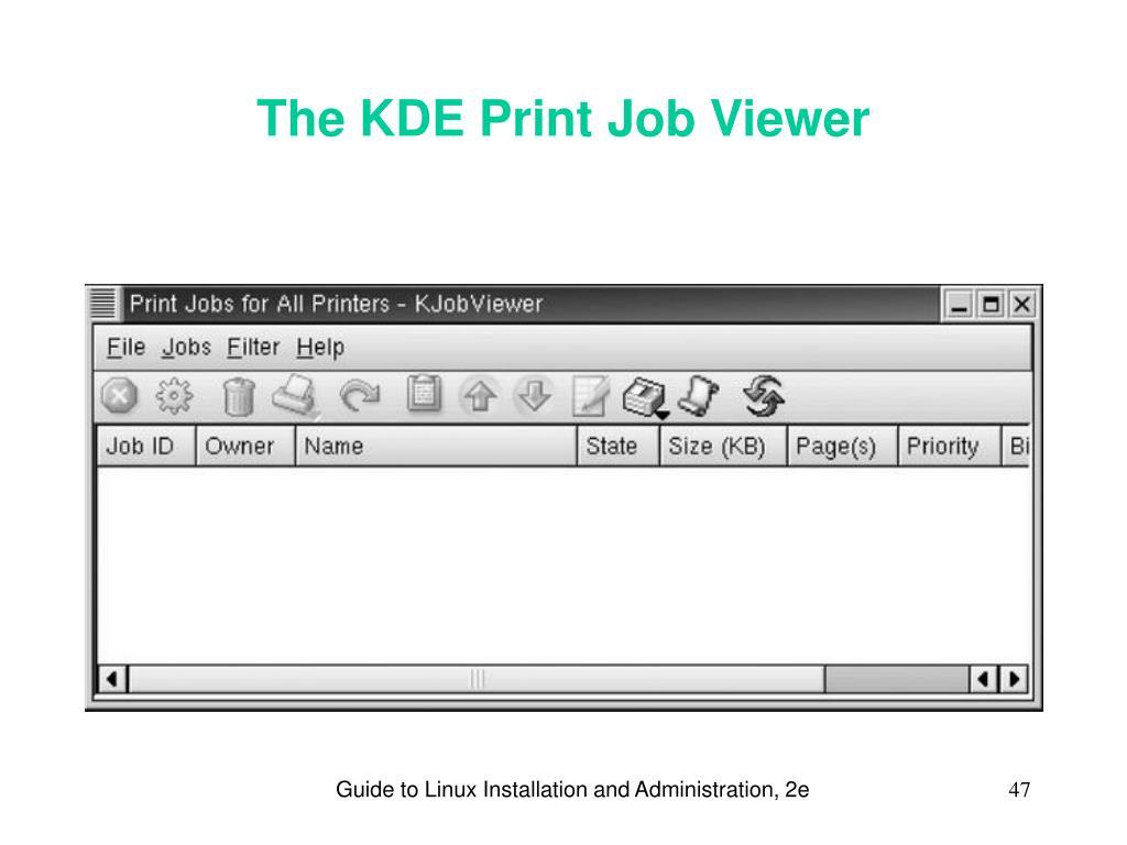 Linux job id