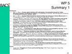 wp 5 summary 11