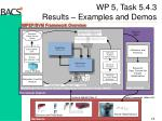 wp 5 task 5 4 3 results examples and demos1