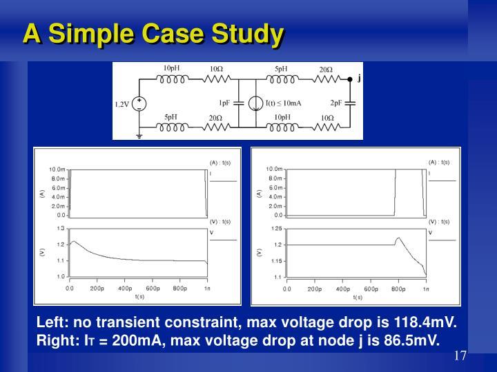 A Simple Case Study