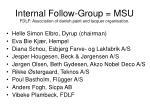 internal follow group msu fdlf association of danish paint and lacquer organisation