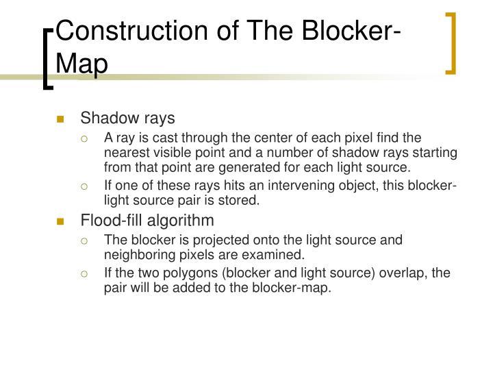 Construction of The Blocker-Map