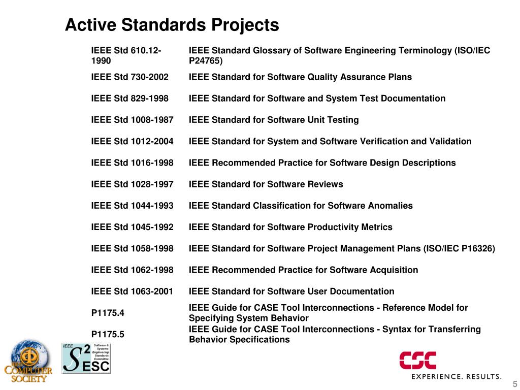 Ppt Paul Croll Chair Ieee Software And Systems Engineering Standards Committee Powerpoint Presentation Id 4217109