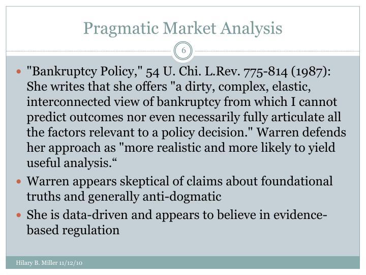 Pragmatic Market Analysis