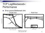 tcp logwestwood performance1