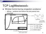 tcp logwestwood