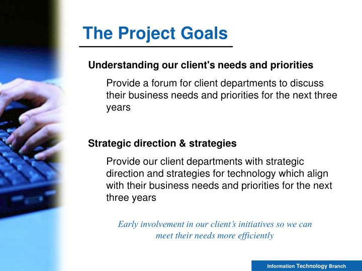 The Project Goals