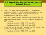 3 2 explaining recent disparities in growth rates