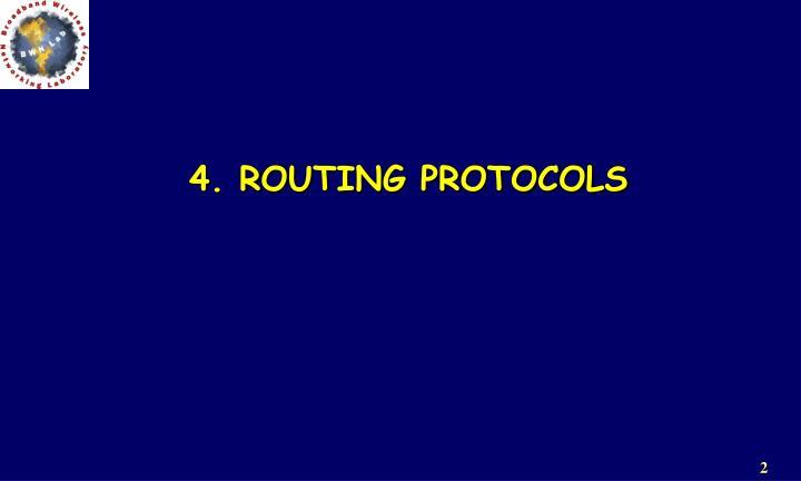 4. ROUTING PROTOCOLS
