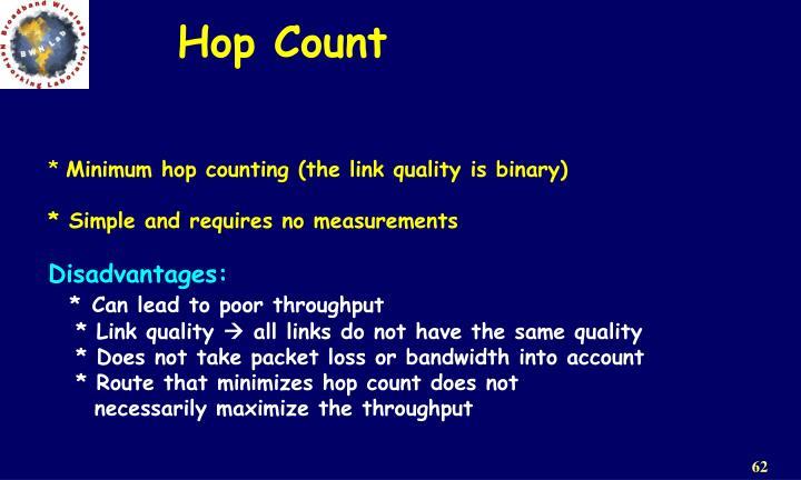 Hop Count