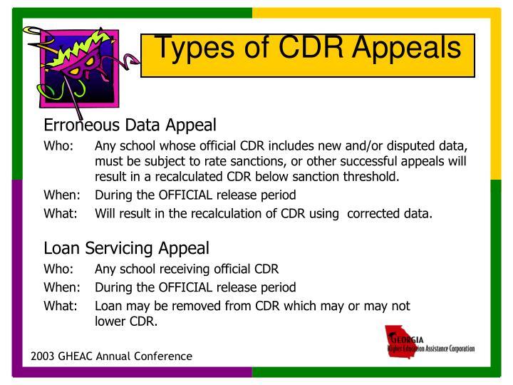 Erroneous Data Appeal