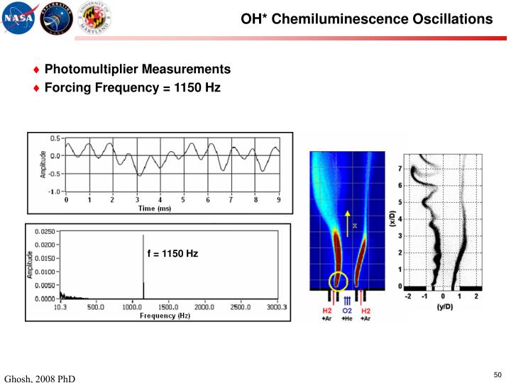OH* Chemiluminescence Oscillations