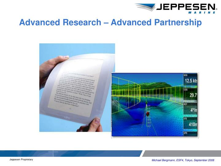 Advanced Research – Advanced Partnership