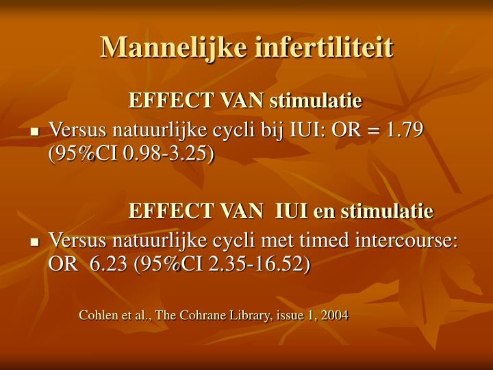 Mannelijke infertiliteit
