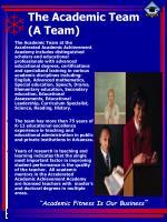 the academic team a team
